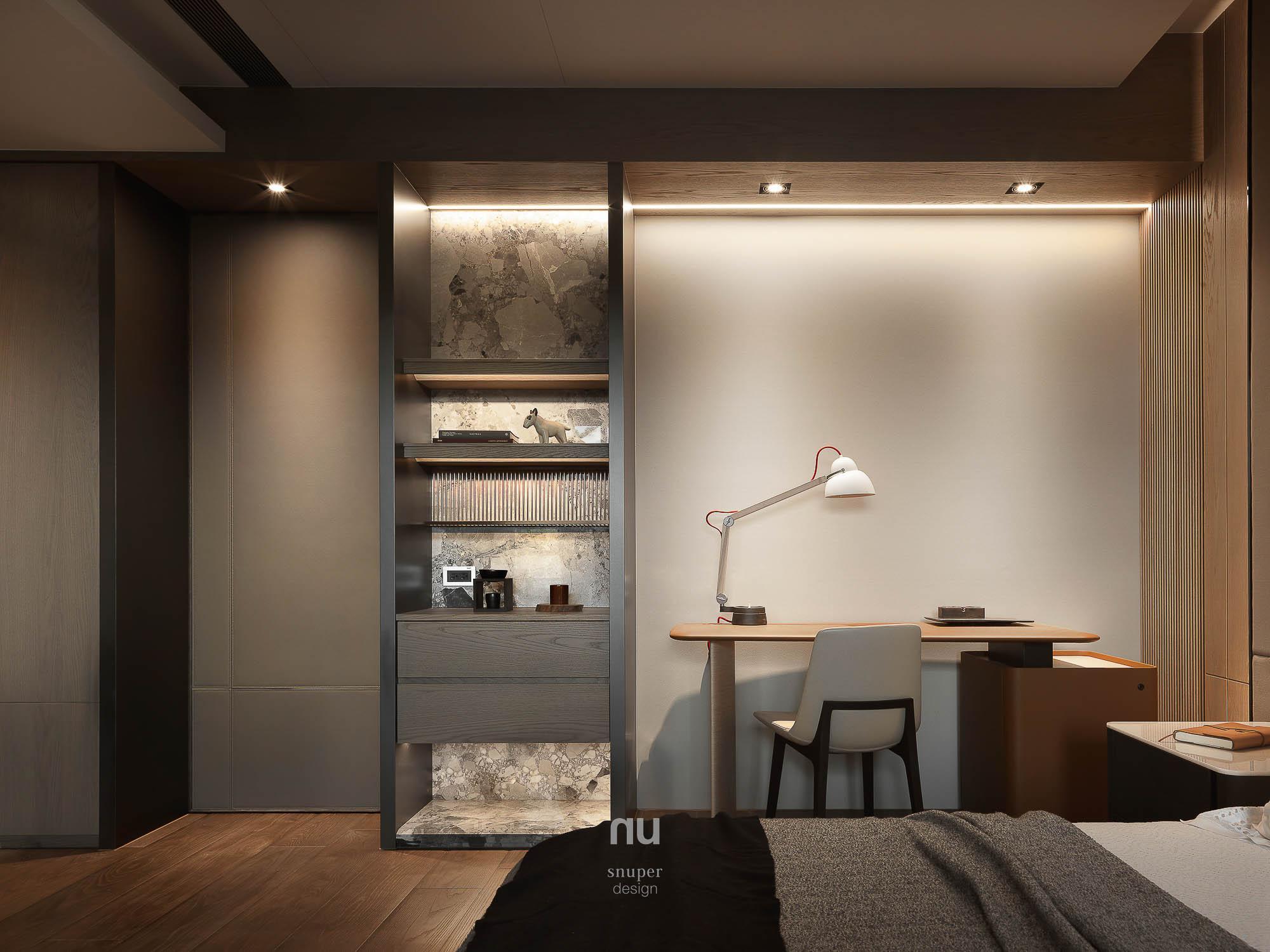 豪宅設計 - 主臥房
