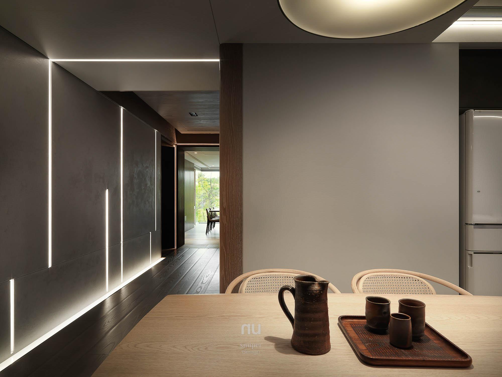 豪宅設計 - 輕食區 時光廊道