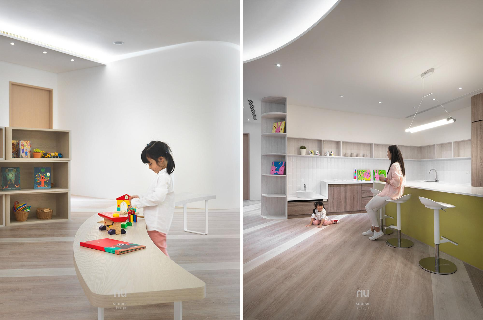 辦公室設計 - 遊樂區 輕食區