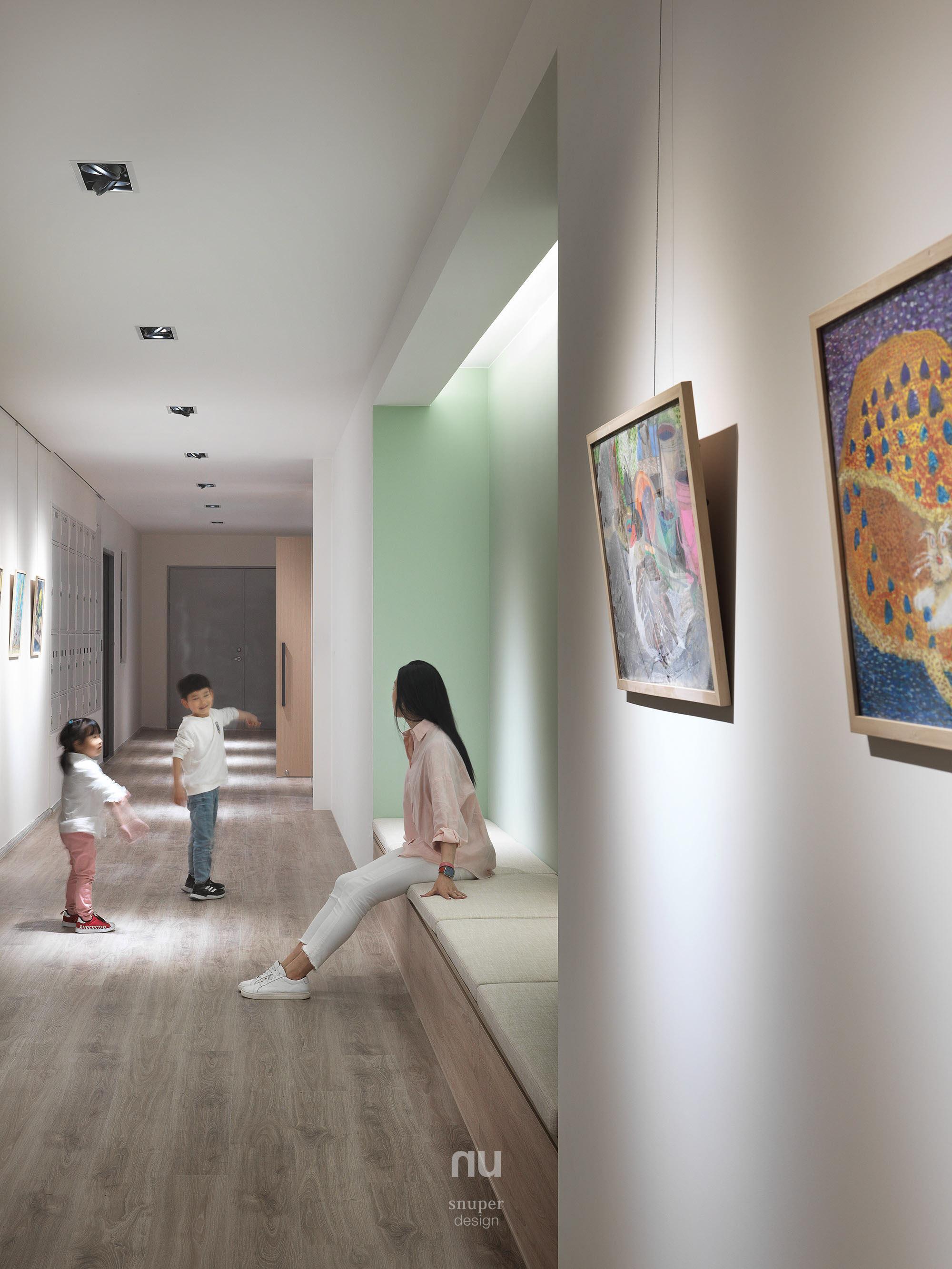 辦公室設計 - 走廊