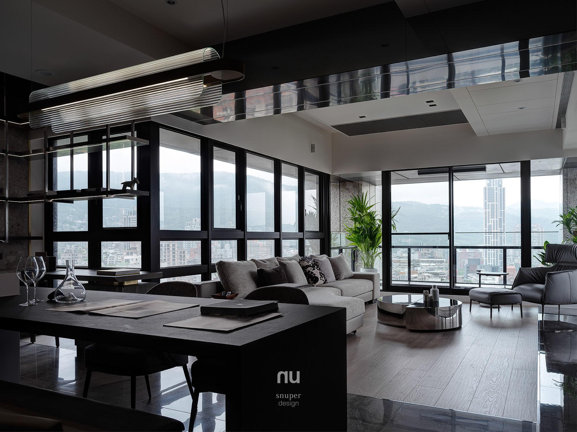 豪宅設計_ 餐廳 客廳