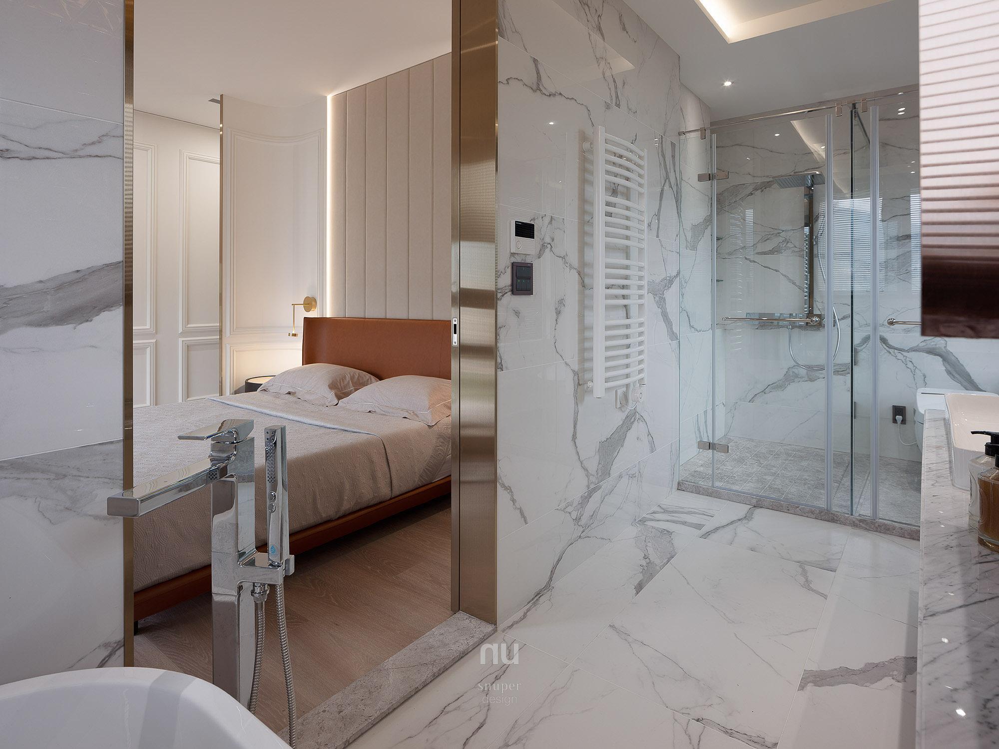 豪宅設計_ 主臥浴室