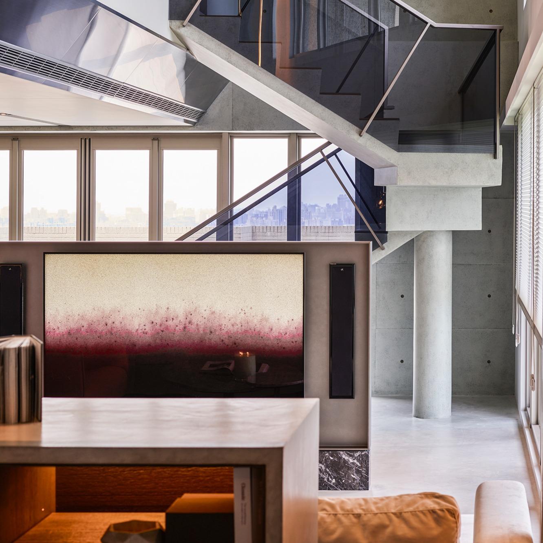 豪宅設計-空間的剖面