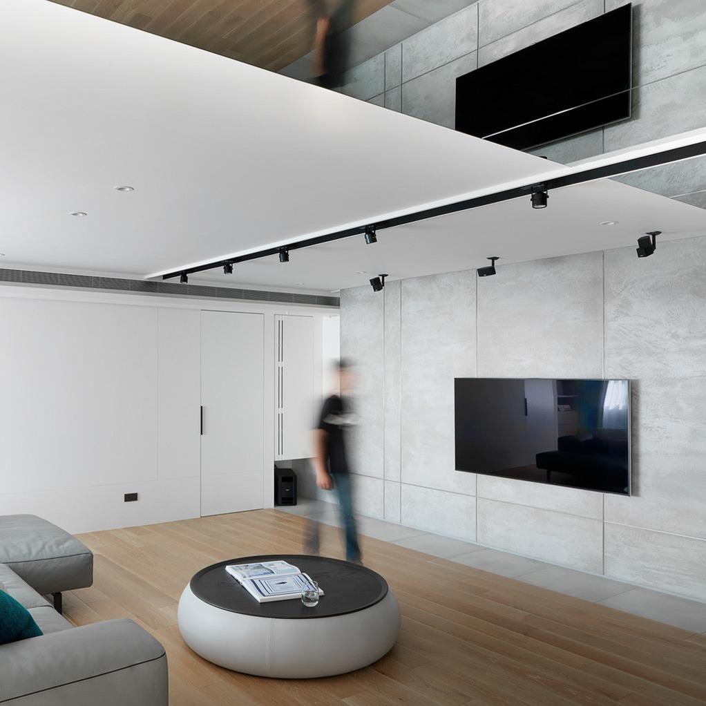 豪宅設計-空間的摺痕