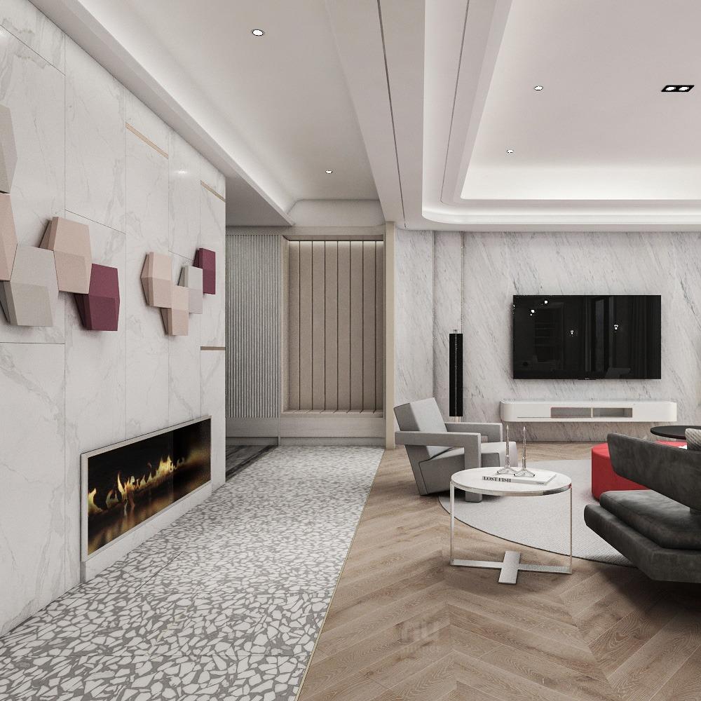 豪宅設計 - 優雅非凡的風尚家居