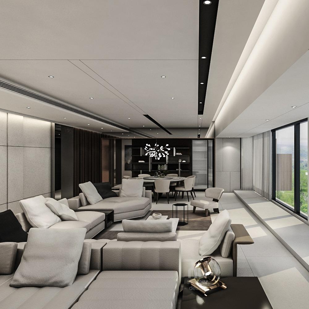 豪宅設計-Penthouse 台中序曲